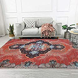 related image of ORGRIMMAR Persian Rug Floral Carpets Indoor Modern