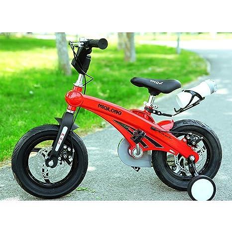 YQ Bicicleta De Bicicleta para Niños De Freestyle Boy para Niñas De Magnesio, 3