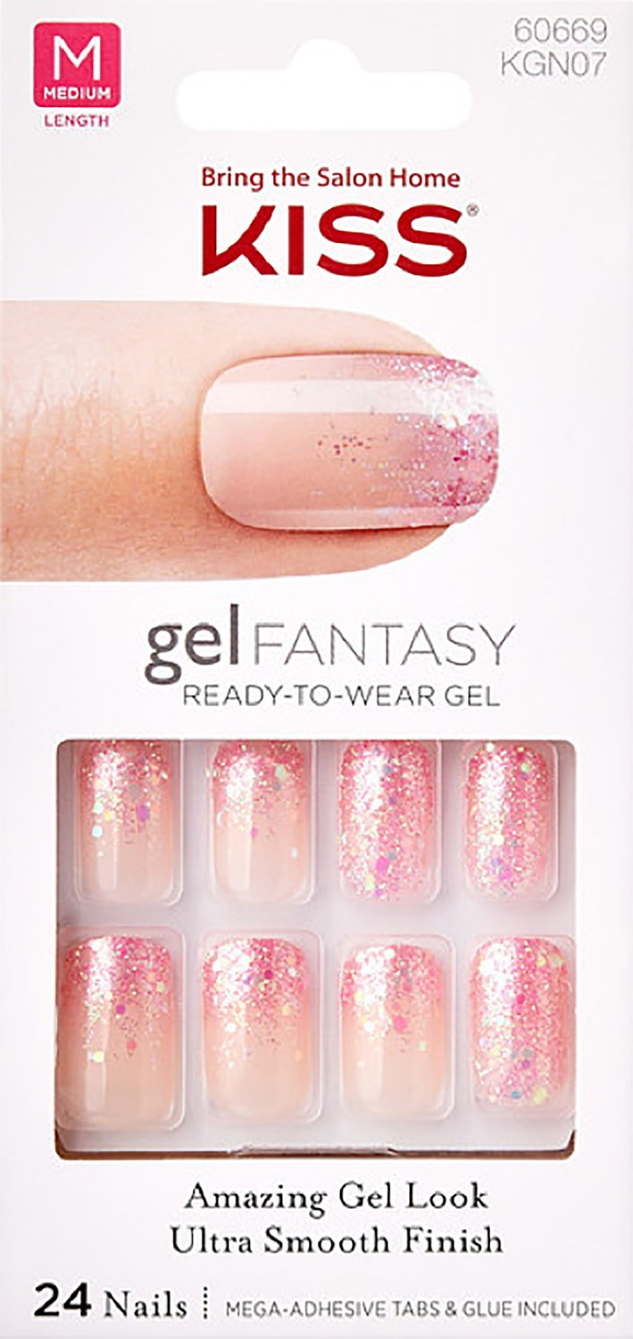 Amazon.com : Kiss Nails GEL FANTASY \