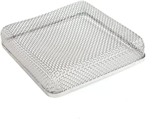ALEKO RVS013 Stainless Steel RV Vent Screen for Bugs Birds Rodent Protection 6.7 x 6.7 x 1.3 Inches