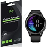 (3 Pack) Dmax Armor for Garmin Venu Screen Protector, (Full Screen Coverage) High Definition Clear Shield