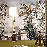 Huangyahui panoramique 3d d'Asie du Sud-est Tropical Jungle vintage papier peint Hôtel Thème Chambre Hôtel Fond papier mural Banana peintures murales