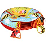 Sit Me Up Inflatable Activity Baby Play Ring In Garden Gang
