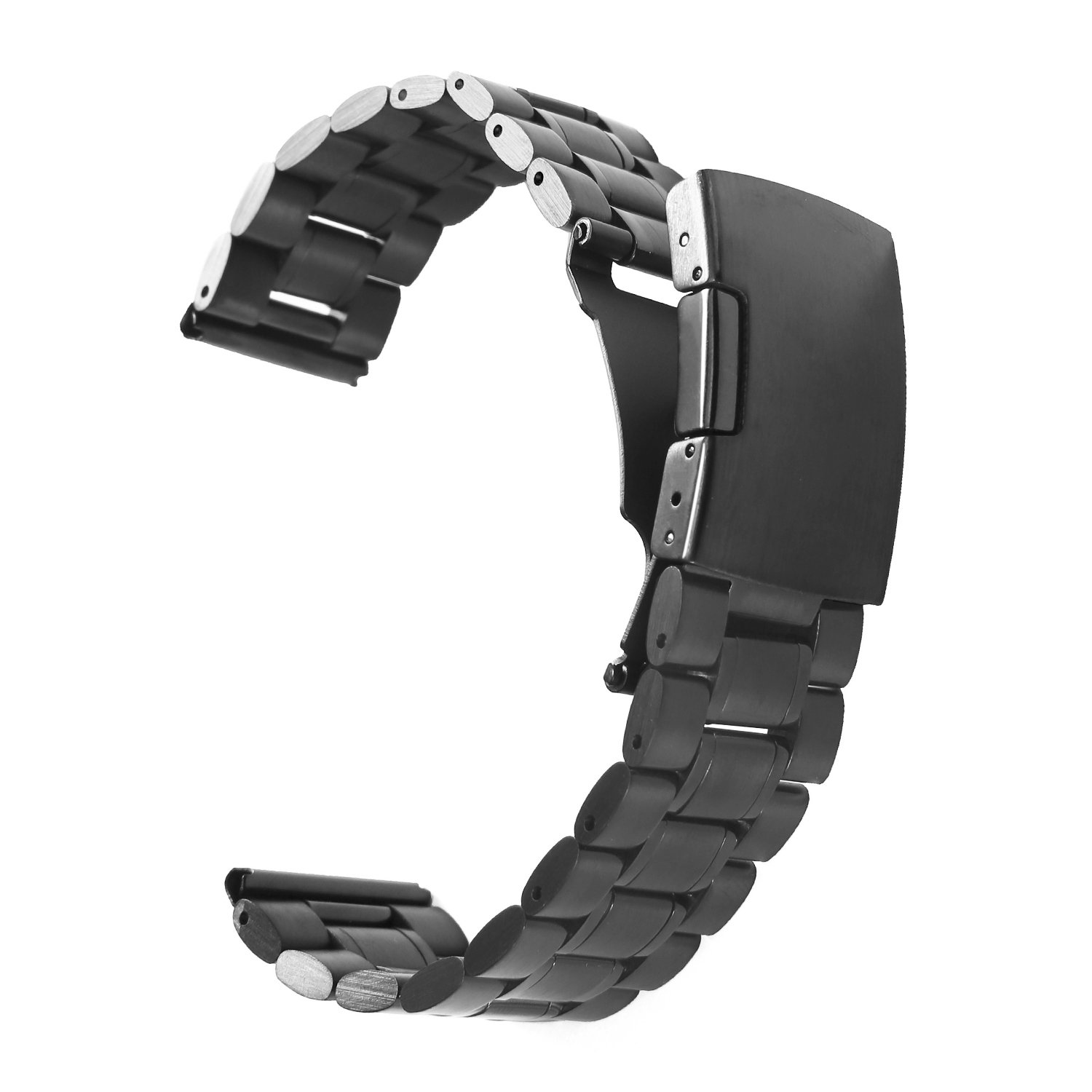 Vetoo 304 Stainless Steel 22mm Watch Bands For Moto 360 2nd Gen 46mm,pebble  Time
