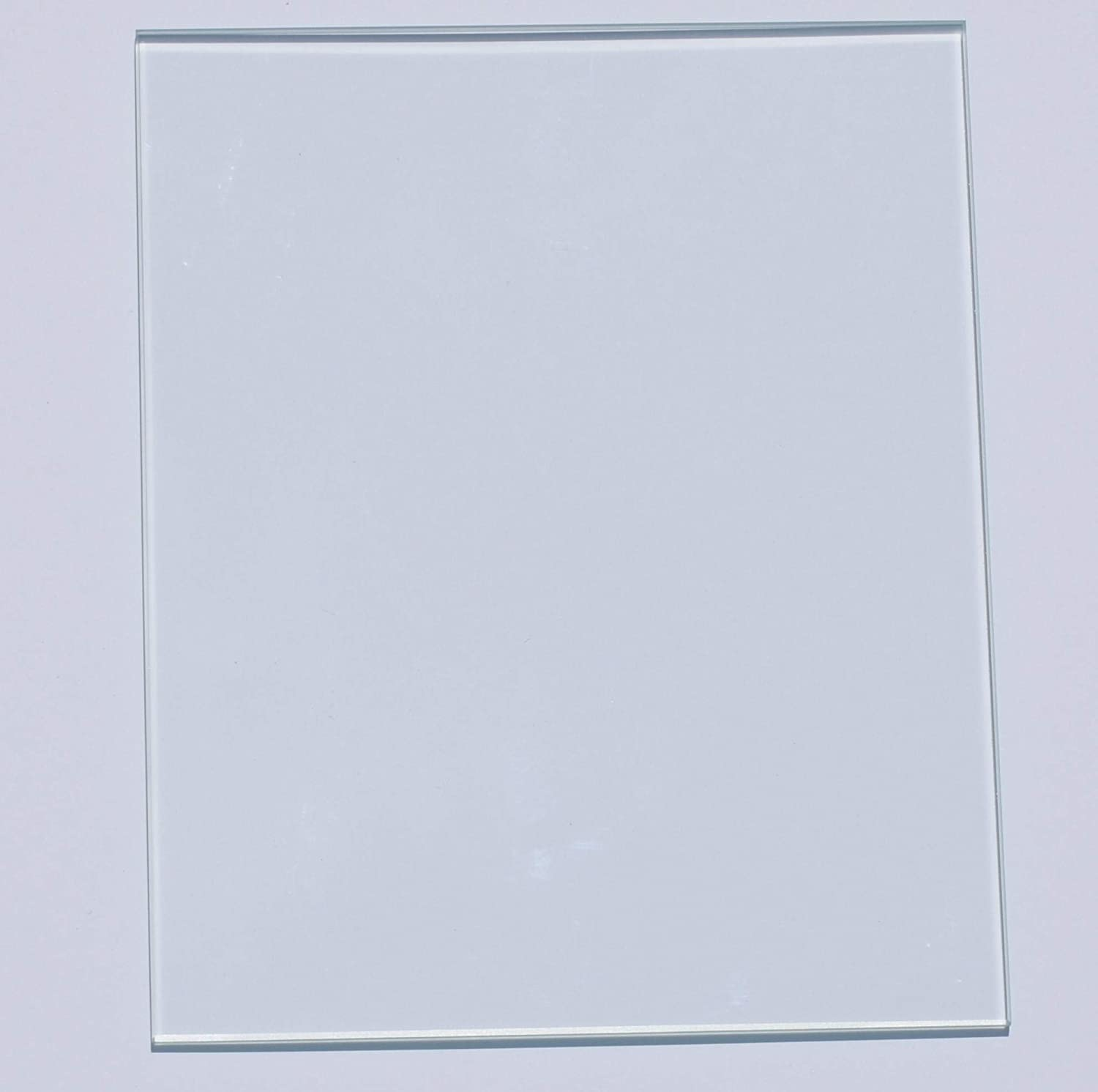 ReliaBot 130mm x 160mm 3mm Thick Borosilicate Glass Plate Bed Polished Edge Corners Cut for Monoprice MP Select Mini 3D Printer