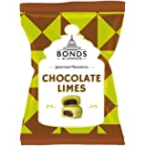 Original Bonds London Chocolate Limes Bag Lime Flavored Boiled Sweets With A Chocolate Centre Imported From The UK England A