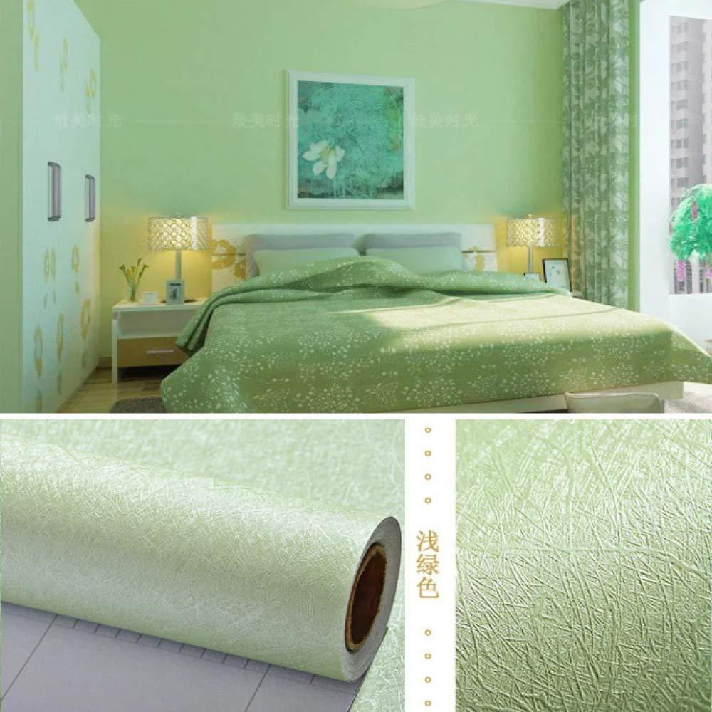Papel Pintado de Color sólido Autoadhesivo Dormitorio ...