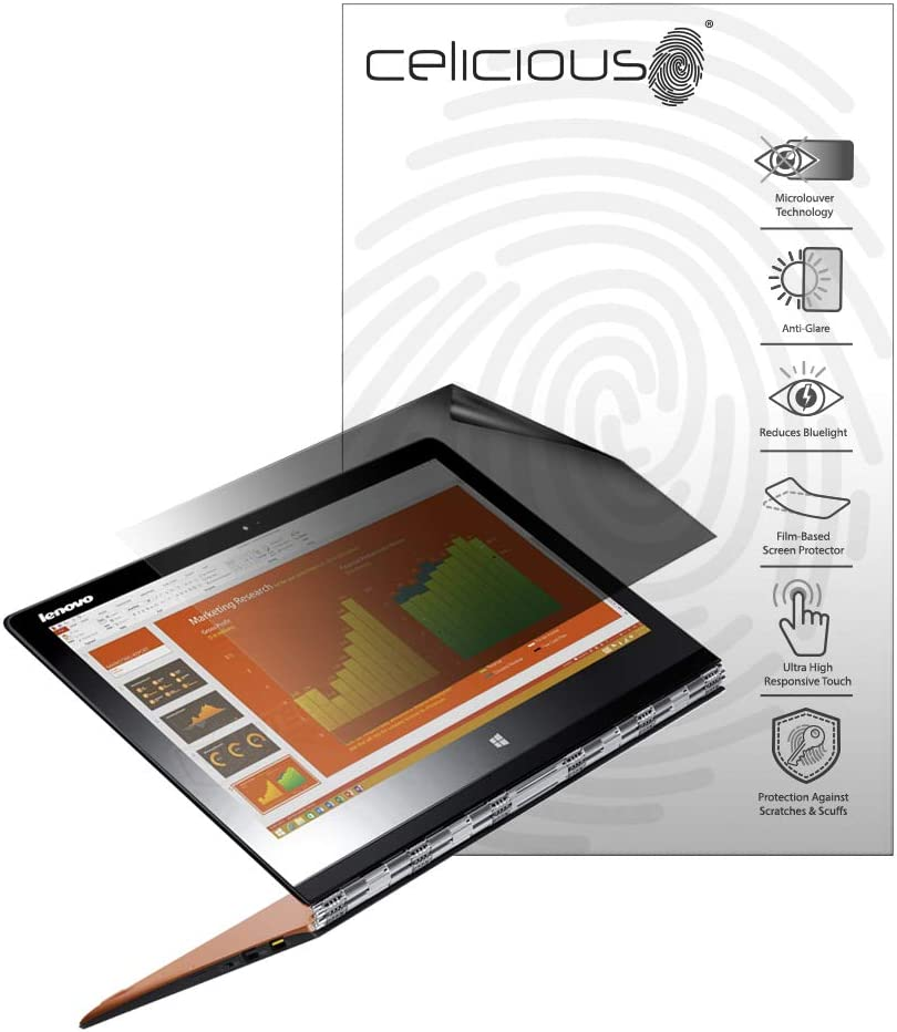 Celicious Privacy Plus 4-Way Anti-Spy Filter Screen Protector Film Compatible with Lenovo Yoga 3 11 inch