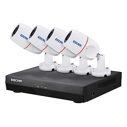 Cámara De Vigilancia 1080P Alta Resolución 2 Megapíxeles Interior/Exterior Cámara De Seguridad IP Impermeable