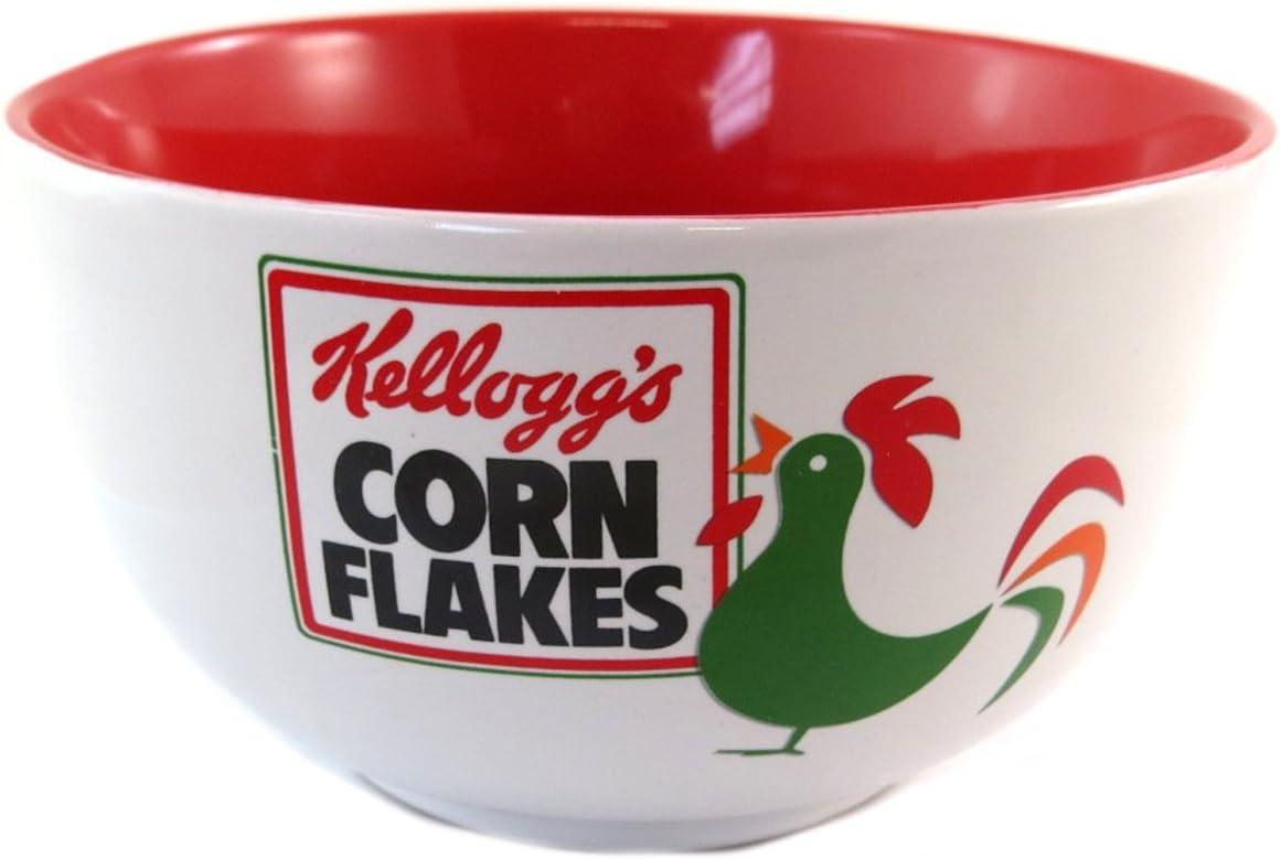 - Bowl ceramic Kelloggs black white . 5.51x3.15 corn flakes Q0319 Les Tr/ésors De Lily Kelloggs - 14x8 cm