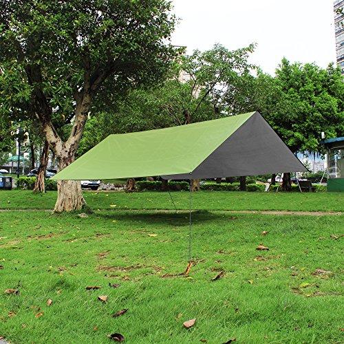 Tarp Tents Shelter : Yuedge portable lightweight waterproof rain tarp fly