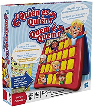 Hasbro Gaming Gaming Clasico Games-Quien es quien (Hasbro 05801175 ...