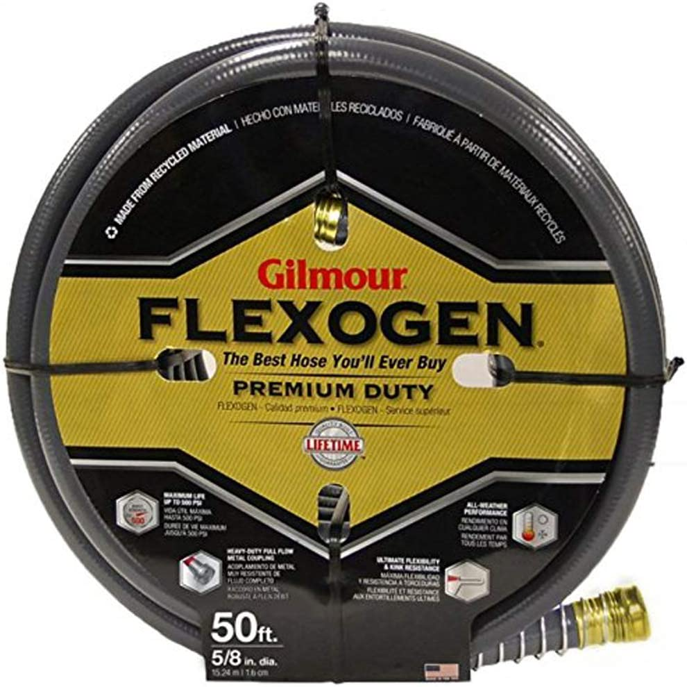 Gilmour Flexogen 5/8 in. Garden Hose 50FT.