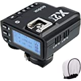 Godox X2T-S TTL Wireless Flash Trigger for Sony, Bluetooth Connection, 1/8000s HSS, 5 Separate Group Buttons, Relocated…