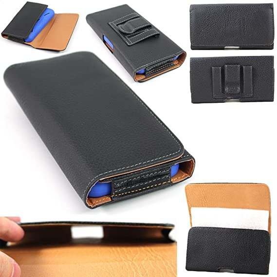 sale retailer d53ef 97d5f Amazon.com: OnePlus 3 Case, SOGA [Horizontal Pouch Series] Leather ...