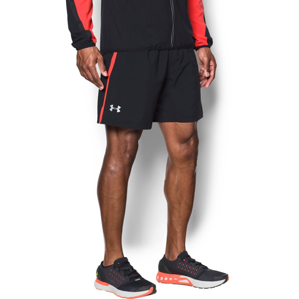 Under Armour UA Launch 2-in-1 SM Black by Under Armour (Image #1)
