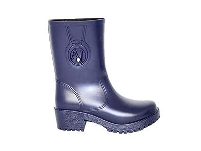 f0bbfd43c224 Armani Jeans U5587, Bottes en caoutchouc femme - Bleu - bleu, 41.5 ...