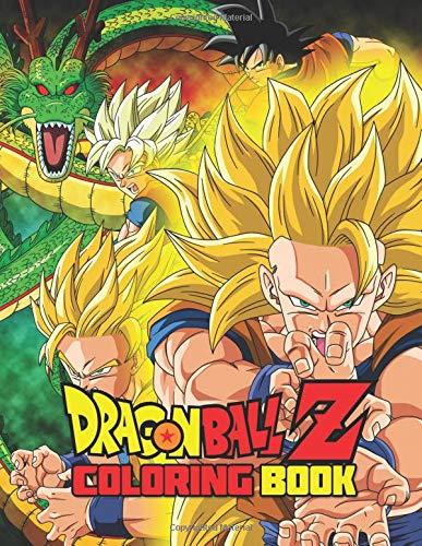 Dragon Ball Z Coloring Book: 28 Exclusive Illustrations por Activity Child