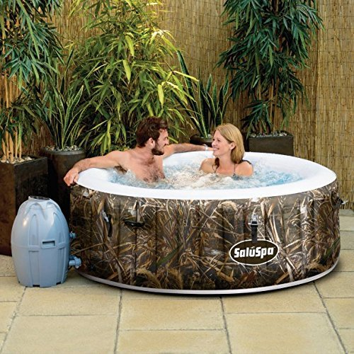 Amazon.com: SaluSpa Realtree MAX-5 AirJet 4 Person Portable ...