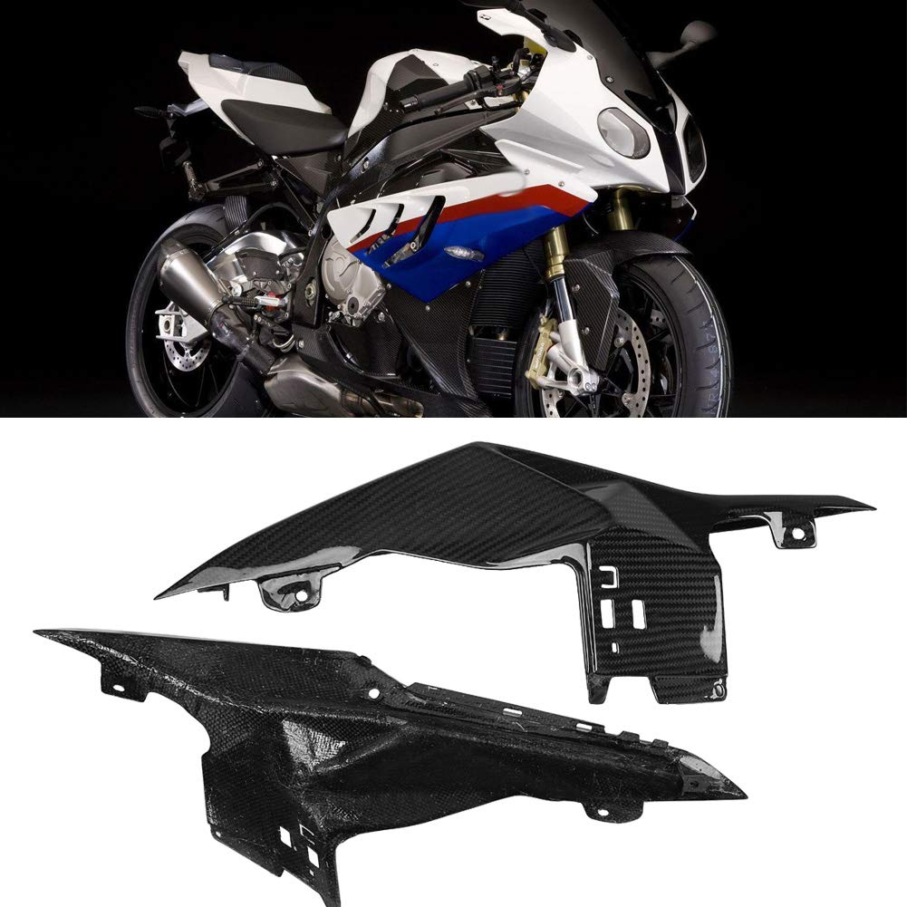 KIMISS Carbon Fiber Motorcycle Modified Rear Tail Seat Side Panels Cover Fairing for BMW S1000RR 15-18 by KIMISS (Image #3)