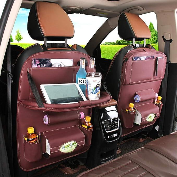 WCJ Car Mobile Red Phone Bracket Car Accessories Rear Seat Car Multi-Function Rear Row Clip