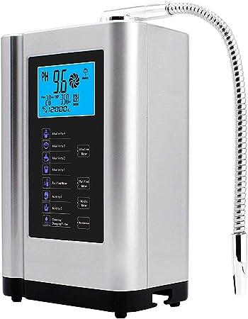 MEETGG Ionizador de Agua, Ácido alcalino Máquina de Agua PH 3.5 ...
