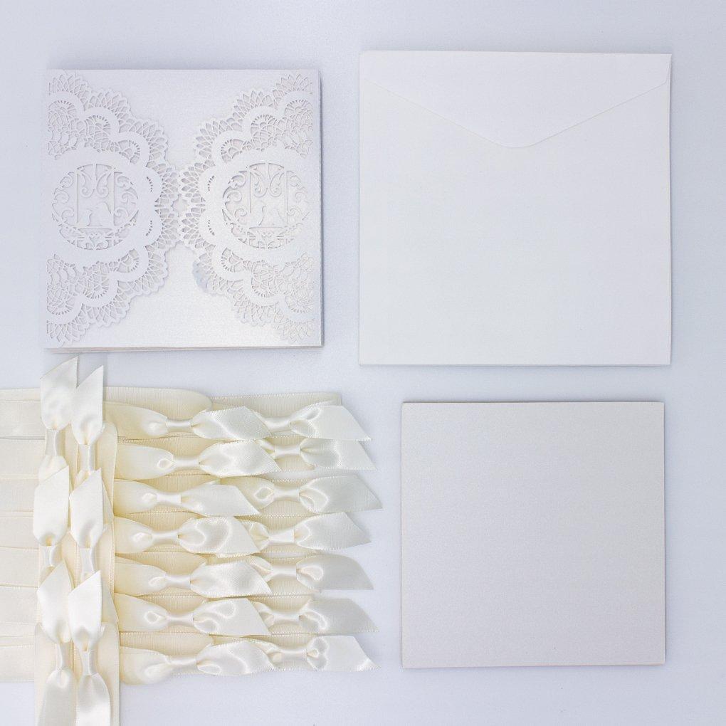 Kit di 20 pezzi di partecipazioni eleganti 4c2143a59ea