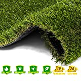 AYOHA 7' x 13' (91 Square ft) Artificial Grass,...