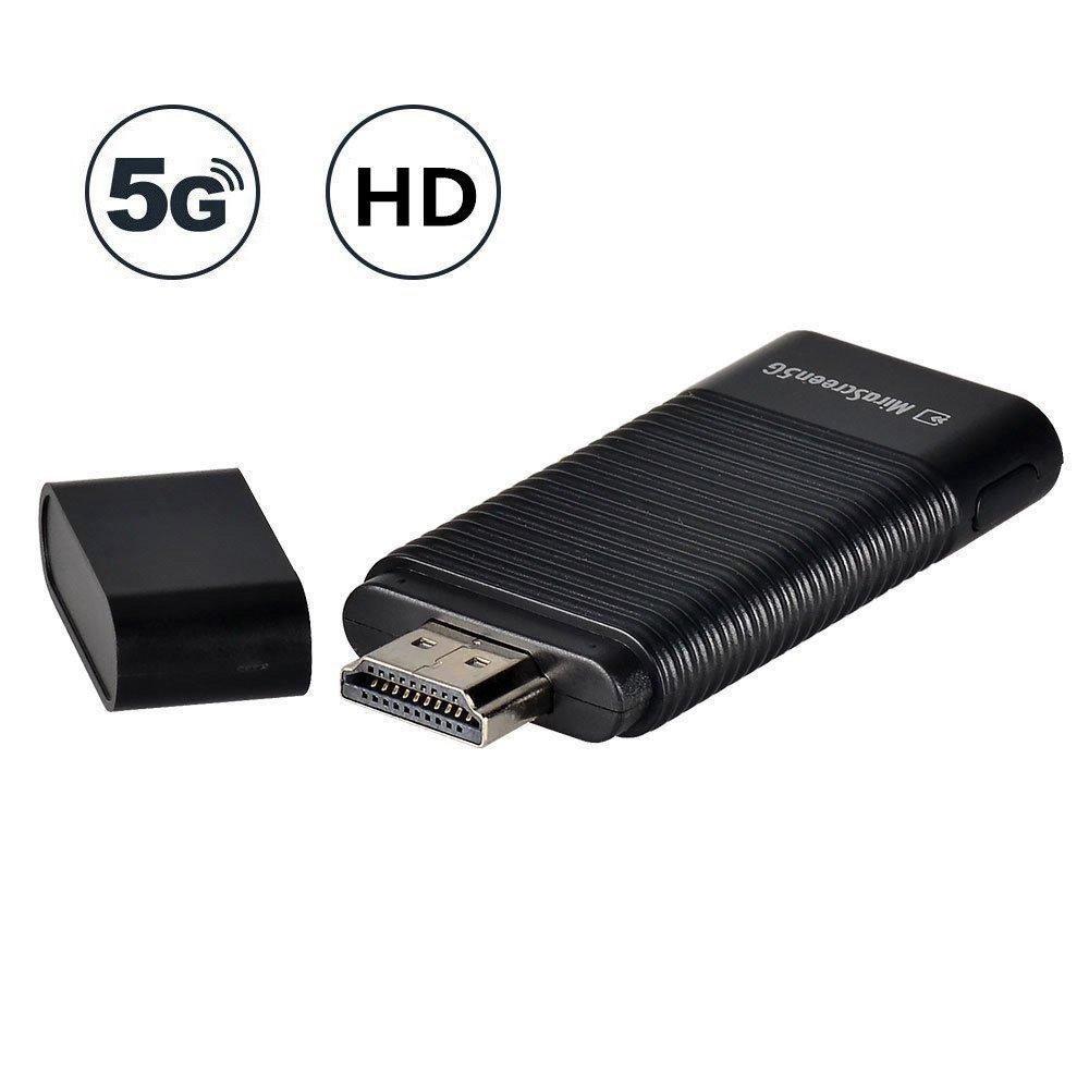 YEHUA WiFi Display Dongle HDMI 1080P TV Receptor Adaptador Mirroring Screen Desde el telé fono a la Pantalla Grande Compatible con Miracast Airplay DLNA TV Stick para Android / Mac / iOS / Windows