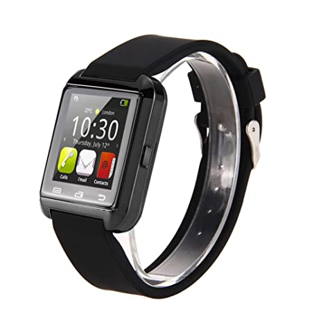 Asiright Original U8 - Reloj inteligente con Bluetooth para Android y iPhone