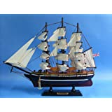 "Cutty Sark 14"" - British Clipper Ship Model - Wooden Tall Ship Model - Handcrafted Model Ships - Nautical Decorations - Sold Fully Assembled - Not a Model Ship Kit"