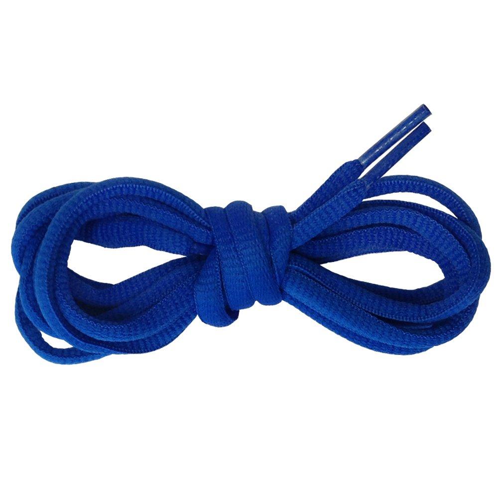 Suddora Multi Color Shoelaces - Pair of Tubed Shoe Laces (Blue)