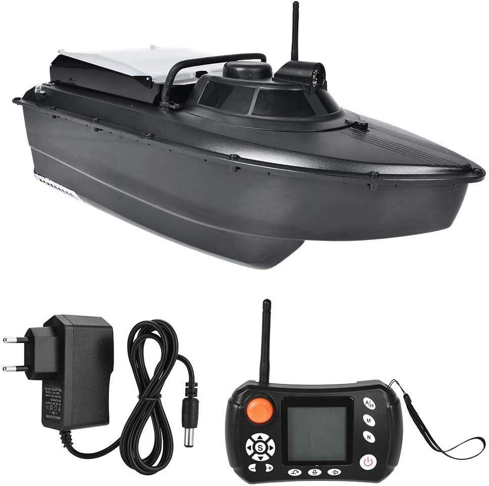 𝐑𝐞𝐠𝐚𝐥𝐨 𝐝𝐞 𝐍𝐚𝒗𝐢𝐝𝐚𝐝 Fish Finder Lure Boat, piloto automático GPS Sonar Control Remoto Wireless Fishing Lure Bait Boat Fish Finder con luz Nocturna para Pesca de Agua Salada Pesca en Barco