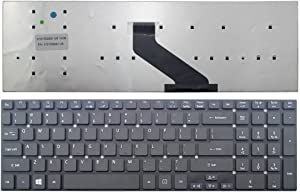 New Laptop Keyboard (Without Frame) Replacement for Acer Aspire V15 V3-572 V3-572-50T7 V3-572-78R3 V3-572PG-5153 US Layout Black Color