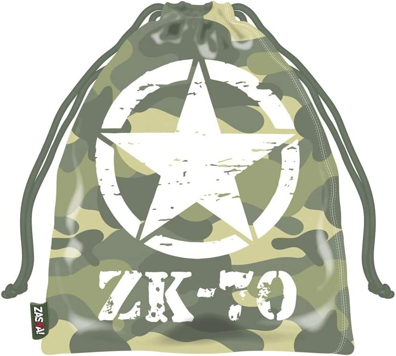 ARDITEX ZK50740 Bolsa Merienda 26.5X21.5cm de ZASKA-Militar