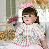 Amazon.com: PURSUEBABY - Muñeca de bebé recién nacido ...