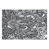 Deny Designs Valentina Ramos Doodles Woven Rug, 4 by 6-Feet Review