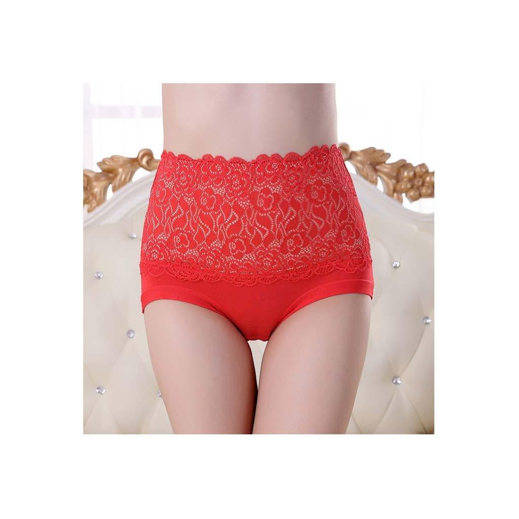 Women's Body Shaper Hip Abdomen Tummy Control High Waist Underwear 4 packaging , a , l by moxin