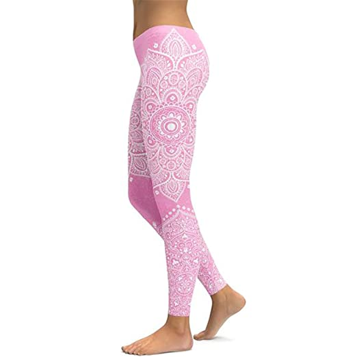 d6603d9a9b Image Unavailable. Image not available for. Color: Leggings Yoga Pants  Women Fitness Push Up Tight Wear Gym Training ...