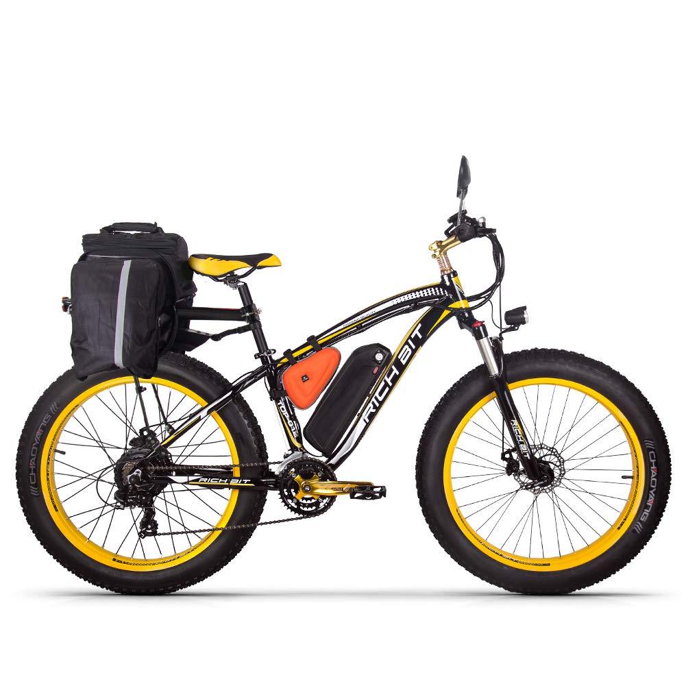 RICH BIT RT-022 Fat E-Bike 1000W 48V 17Ah Vélos électriques LCD Smart E-Bike product image