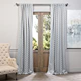 Half Price Drapes BOCH-KC26-84 Blackout Curtain, Casablanca Teal Review