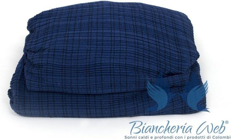 BIANCHERIAWEB Copridivano in Tessuto Jacquard Elasticizzato Ottima vestibilit/à Modello Otello 2 Posti Bordeaux