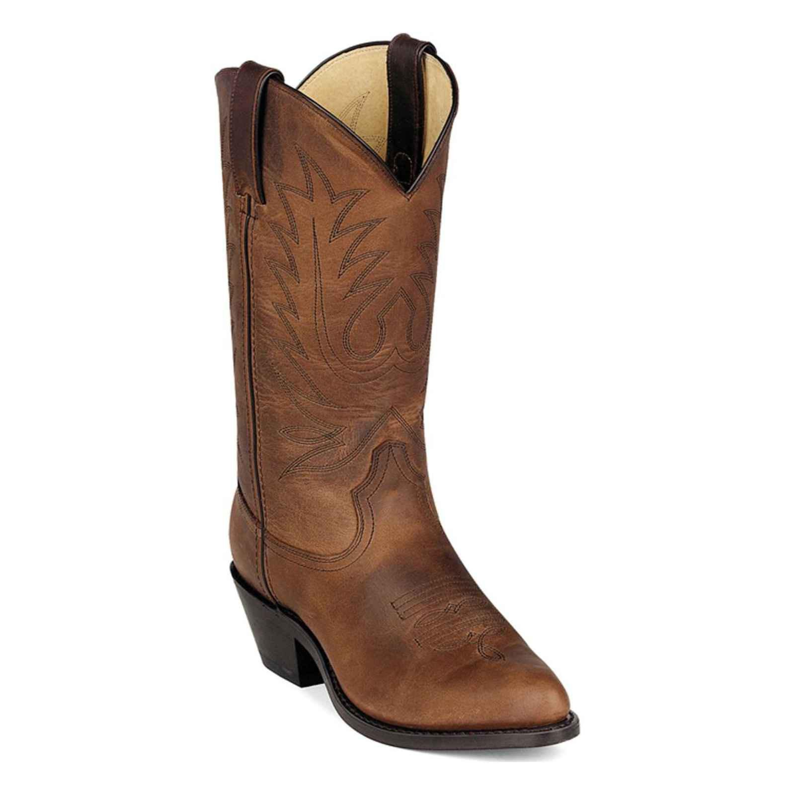 Durango Women's 11'' Shaft Stitch Western Boots,Brown,7.5 W