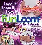 Fun Loom 600 Rubber Bands Bracelet Making Kit