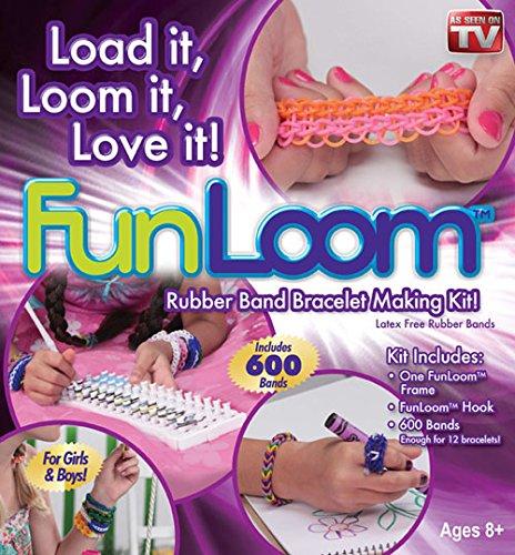 Fun Loom 600 Rubber Bands Bracelet Making (Fun Loom)