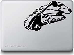 Star Wars Millennium Falcon- Decal Sticker for MacBook, Air, Pro All Models