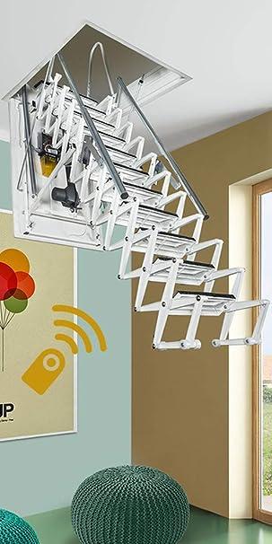 Fontanot Zooom Plus eléctrico Loft escaleras: Amazon.es: Bricolaje y herramientas