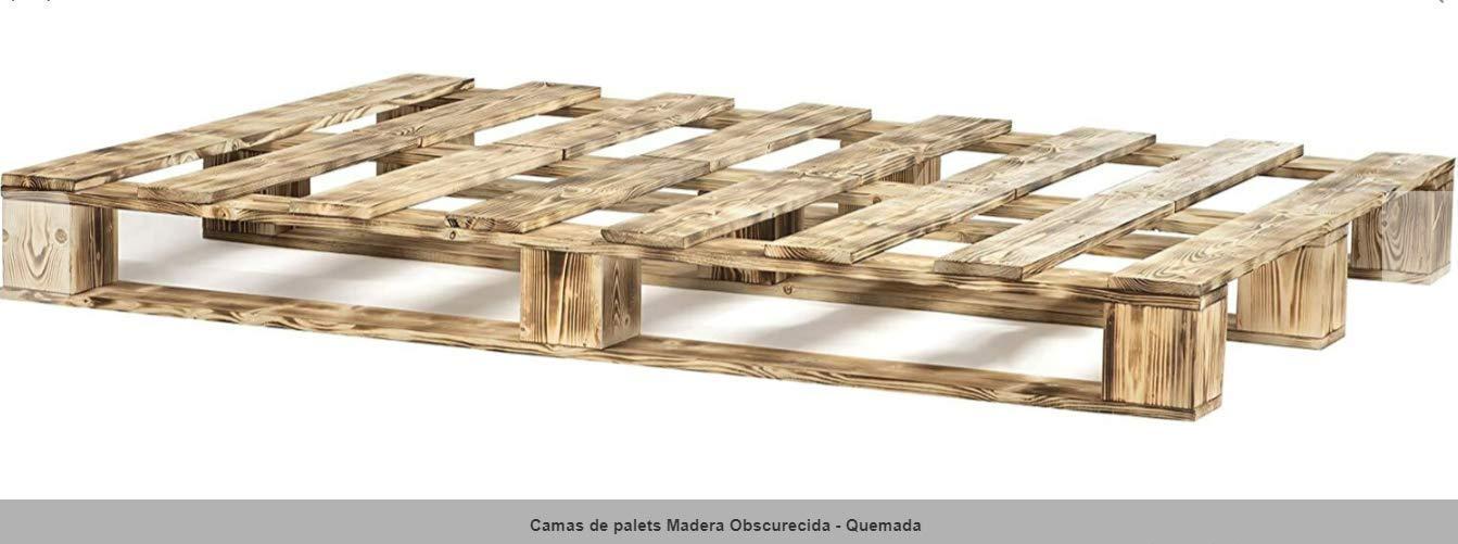 Estructura de Cama de palets de 90 cm - Somieres de pallets ...