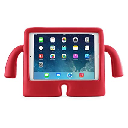 factory price a067f 790f1 Speck Products iGuy Freestanding Protective Case for iPad Air 2, Chili  Pepper Red