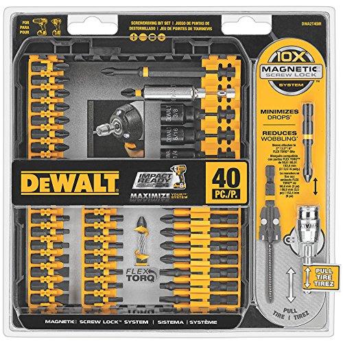 DEWALT 40-Piece Flex Torq Set